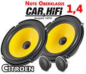 Citroen C4 Auto Lautsprecher vordere Türen Oberklasse C1 650