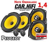 Peugeot 307 Lautsprecher vorne hinten Oberklasse C1 650 525