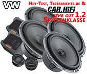 VW Beetle Autoboxen Lautsprecher vorne hinten Spitzenklasse MPK1653 MPX165
