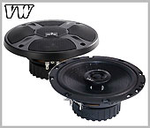 VW Bora car speaker kit, loudspeaker rear doors upgrade kit