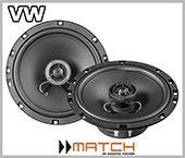 VW Bora front door car speakers loudspeaker upgrade kit