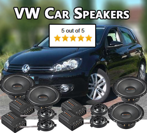 vw car speakers