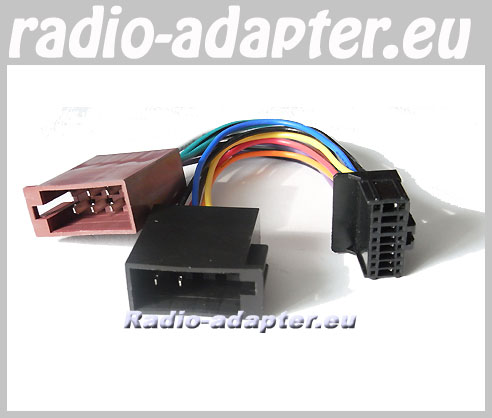 pioneer deh p 77 mp deh p 359 car radio stereo iso wiring loom rh car hifi radio adapter eu Pioneer Car Radio Wiring Harness Pioneer Wiring Harness Color Code