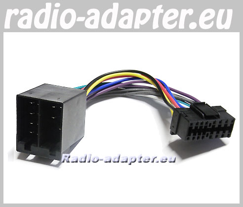 Radio  on Jvc Kd G 322  Kd G 331 Car Radio Stereo Iso Wiring Loom   Car Hifi