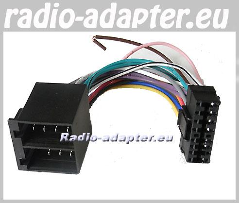 Sony CDX 4150, CDX 4150R DS, Car Radio Stereo ISO Wiring Loom - Car ...