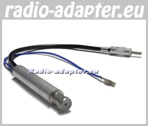vw golf iii iv din aerial amplifier adaptor improve your radio reception car hifi radio. Black Bedroom Furniture Sets. Home Design Ideas