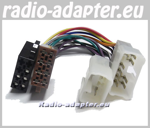 Toyota Radio Wiring Harness - Schematics Online on