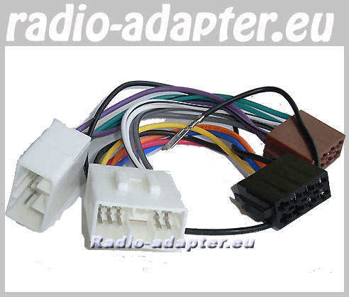 mazda mx5 1990 2001 car radio wire harness wiring iso. Black Bedroom Furniture Sets. Home Design Ideas
