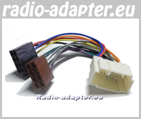 honda jazz 2004 onwards car stereo wiring harness iso. Black Bedroom Furniture Sets. Home Design Ideas