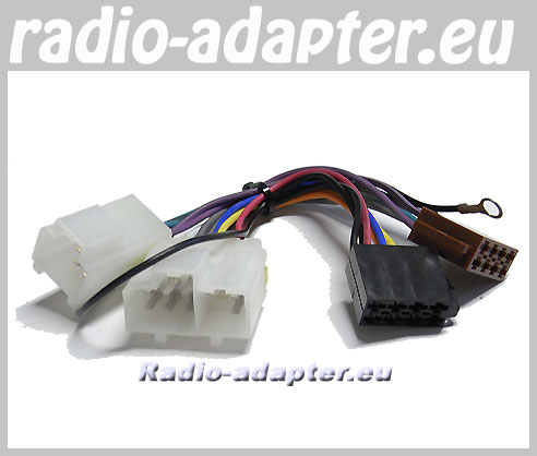 nissan 100 nx 1991 1996 car radio wire harness wiring iso. Black Bedroom Furniture Sets. Home Design Ideas