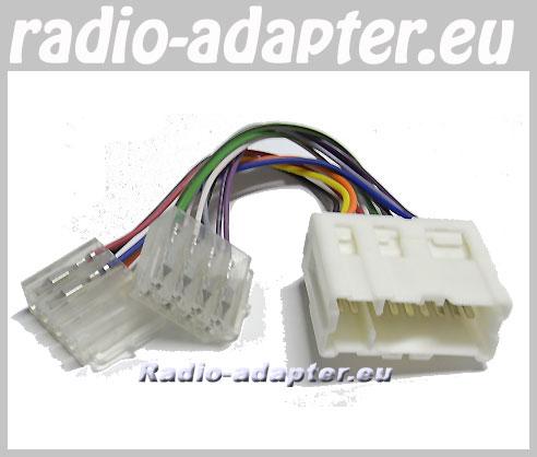 nissan kelisa 2002 onwards car radio wire harness, wiring iso lead  nissan kelisa 2002 onwards car radio wire harness, wiring iso lead car hifi radio adapter eu
