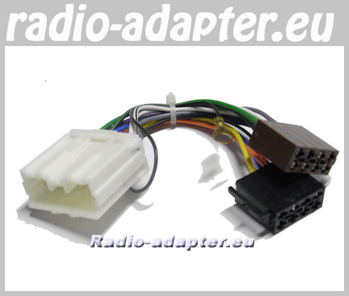 50071eu 12 mitsubishi lancer 2005 2006 car stereo wiring harness, iso lead  at mifinder.co