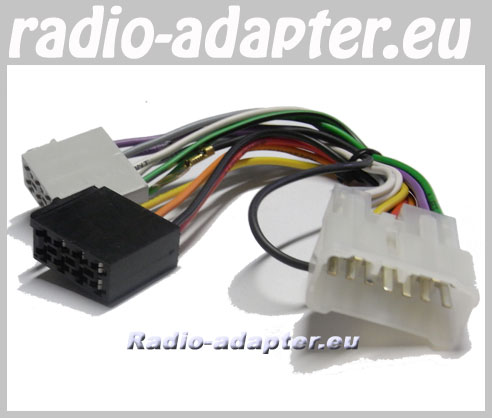 car stereo head unit wiring harness suzuki ignis 2000 - 2002 car stereo wiring harness, iso ... #4