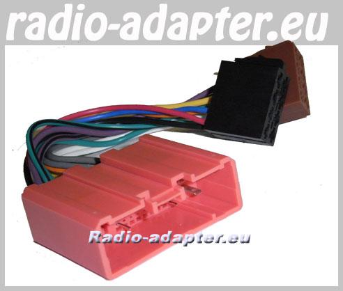 mazda 323 f 2001 2003 car radio wire harness wiring iso. Black Bedroom Furniture Sets. Home Design Ideas