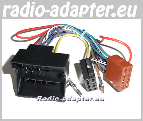 vw passat onwards car radio wire harness wiring iso lead vw passat 2004 onwards car radio wire harness wiring iso lead