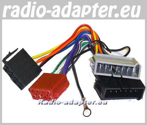 jeep sahara 1997 - 2001 car radio wiring harness, iso lead - car hifi radio  adapter eu
