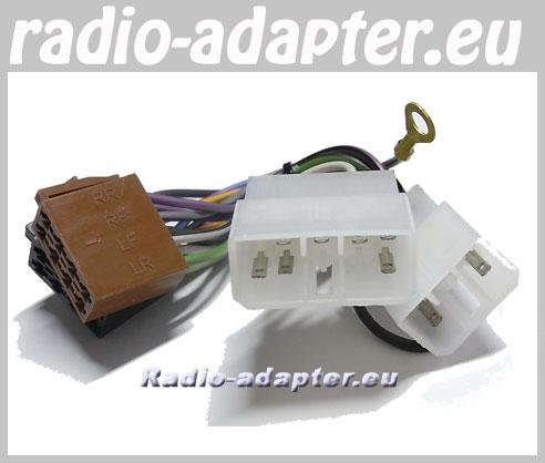 mitsubishi galant 1988 - 1997 car stereo wiring harness, iso lead - car  hifi radio adapter.eu  car hifi radio adapter.eu