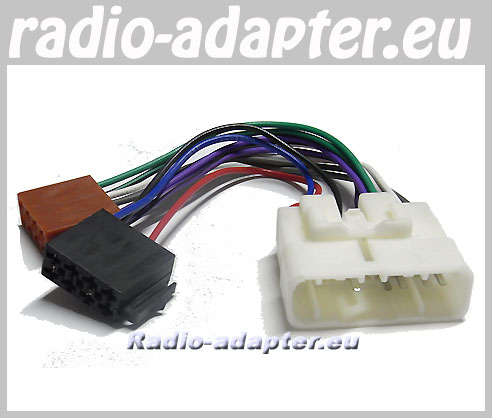 50401eu 3 toyota avensis 2003 onwards car radio wire harness, wiring iso radio wire harness at bakdesigns.co
