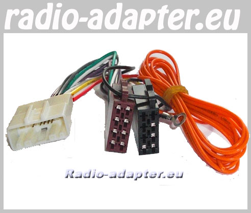 nissan navara 2007 onwards car radio wire harness wiring. Black Bedroom Furniture Sets. Home Design Ideas