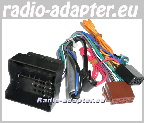 peugeot 307 2005 onwards stereo wiring harness + iso aerial, Wiring diagram
