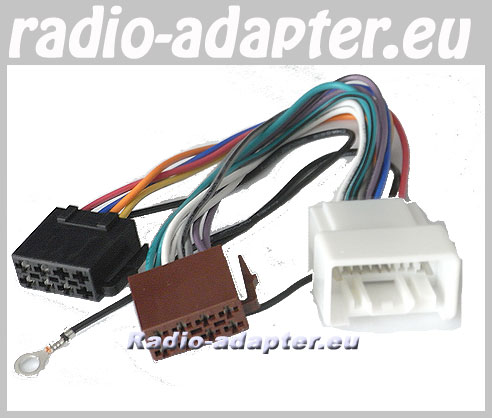 50521eu 4 mitsubishi pajero car stereo wiring harness, 2007 onwards without mitsubishi wiring harness at mr168.co