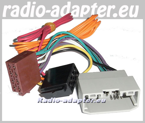 car stereo wiring harness jeep wrangler jeep wrangler 2007 onwards car radio wire harness, wiring iso lead - car hifi radio adapter.eu yj engine wiring harness jeep wrangler