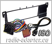 BMW E46 radio dash kit + ISO Aerial adaptor + ISO Harness Adaptors