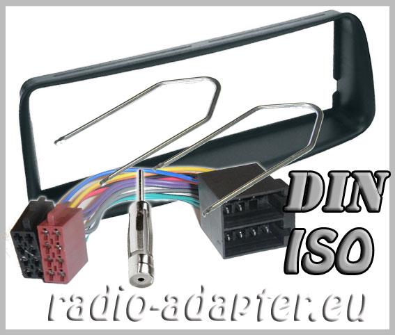 peugeot 206 radio dash kit compo car stereo fitting kit. Black Bedroom Furniture Sets. Home Design Ideas