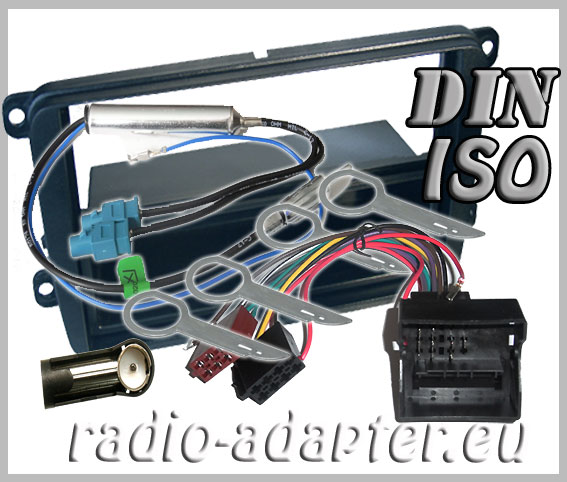 vw caddy radio dash kit car radio installation kit din. Black Bedroom Furniture Sets. Home Design Ideas