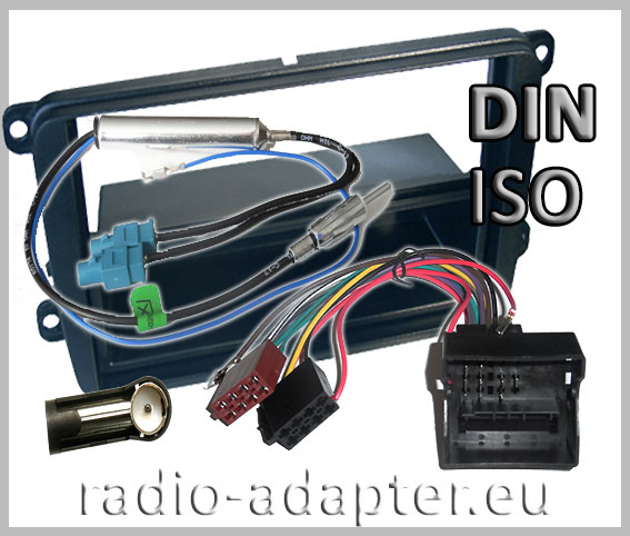 vw passat radio dash kit  car radio installation kit din