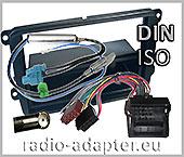 VW Passat radio dash kit, car radio installation kit DIN 2005 onwards