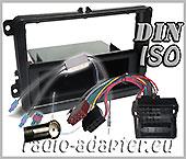 VW Passat car radio installation kit, fascia fitting kit ISO 2005 - 2010