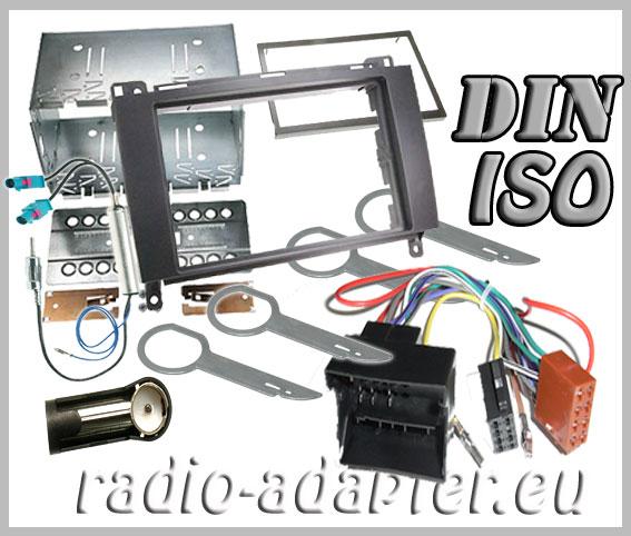 vw crafter radio dash kit double din car radio. Black Bedroom Furniture Sets. Home Design Ideas