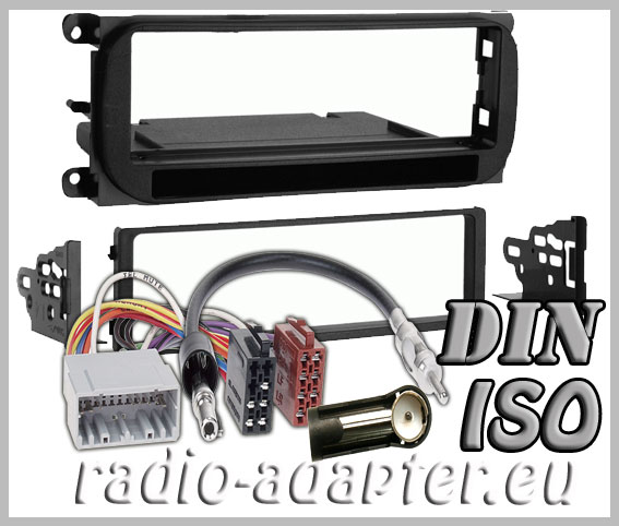 dodge neon 2002 2006 radio installation kit radio dash. Black Bedroom Furniture Sets. Home Design Ideas