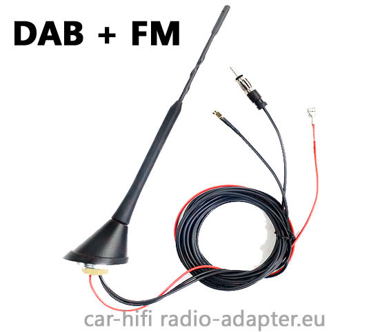 active dab fm antenna with amplifier for dab radio. Black Bedroom Furniture Sets. Home Design Ideas