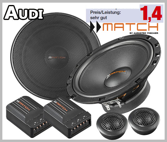 Audi A4 B6 Pair Front Or Rear Door Speaker High Quality KIt - Car