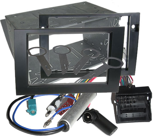 Audi A4 Stereo Installation Dash Kit Double DIN 2002 - 2008