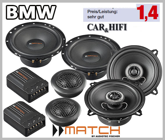 BMW Compact E46 Front And Rear Door Car Speakers & Fitting