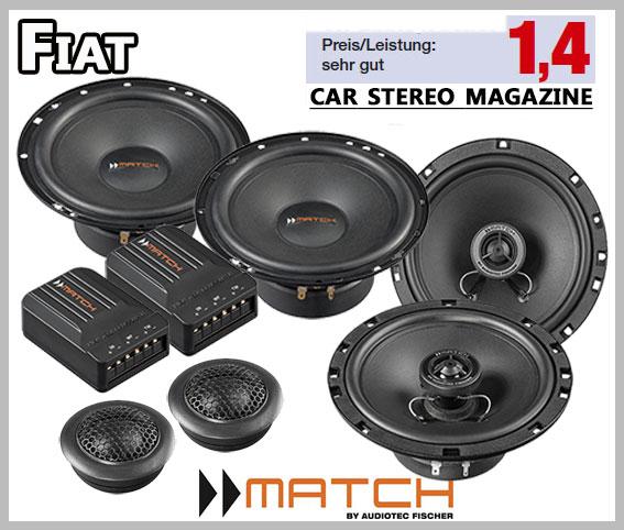 fiat stilo car speakers german winner upgrade kit front. Black Bedroom Furniture Sets. Home Design Ideas