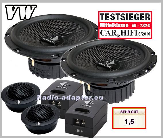 vw t5 helix b62c car speakers front doors loudspeaker. Black Bedroom Furniture Sets. Home Design Ideas