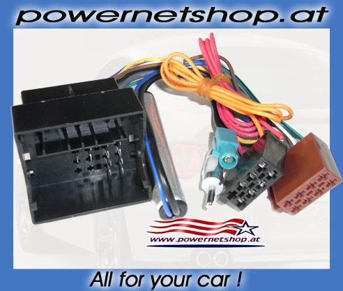 Vauxhall, Opel Meriva Radio Wire Harness Adaptor + DIN ... on