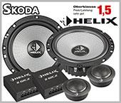 Skoda Rapid Car Speaker Upgrade Front Doors And Brackets
