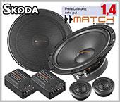 Skoda Rapid Speaker 2 Way Component Front Door Pair