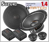 Suzuki SX4 Speaker Pair Front Door 2 Way System High Quality Kit
