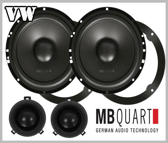vw passat b5 car speakers front doors loudspeaker mb quart car hifi radio. Black Bedroom Furniture Sets. Home Design Ideas