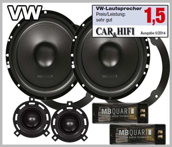 Best Speaker Wire >> VW Passat B6 car speaker set upgrade kit 2-way speakers ...