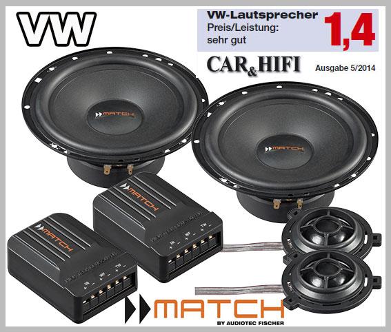 Vw Passat B6 Typ 3c Car Speaker Upgrade Pack Front Doors