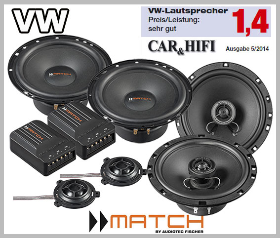 Vw Polo V 6r Car Speakers German Winner Upgrade Kit Front Rear Seat Side Car Hifi Radio