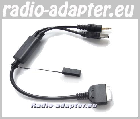 bmw 5er e60 e61 f07 gt f10 ipod iphone kabel anschlusskabel car hifi radio. Black Bedroom Furniture Sets. Home Design Ideas