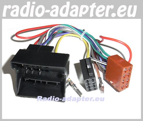 audi a4 b7 b8 auto radio einbau radiokabel adapterkabel. Black Bedroom Furniture Sets. Home Design Ideas